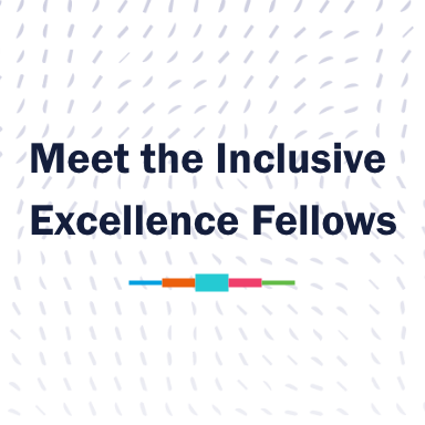 Meet the inclusive Excellence fellows