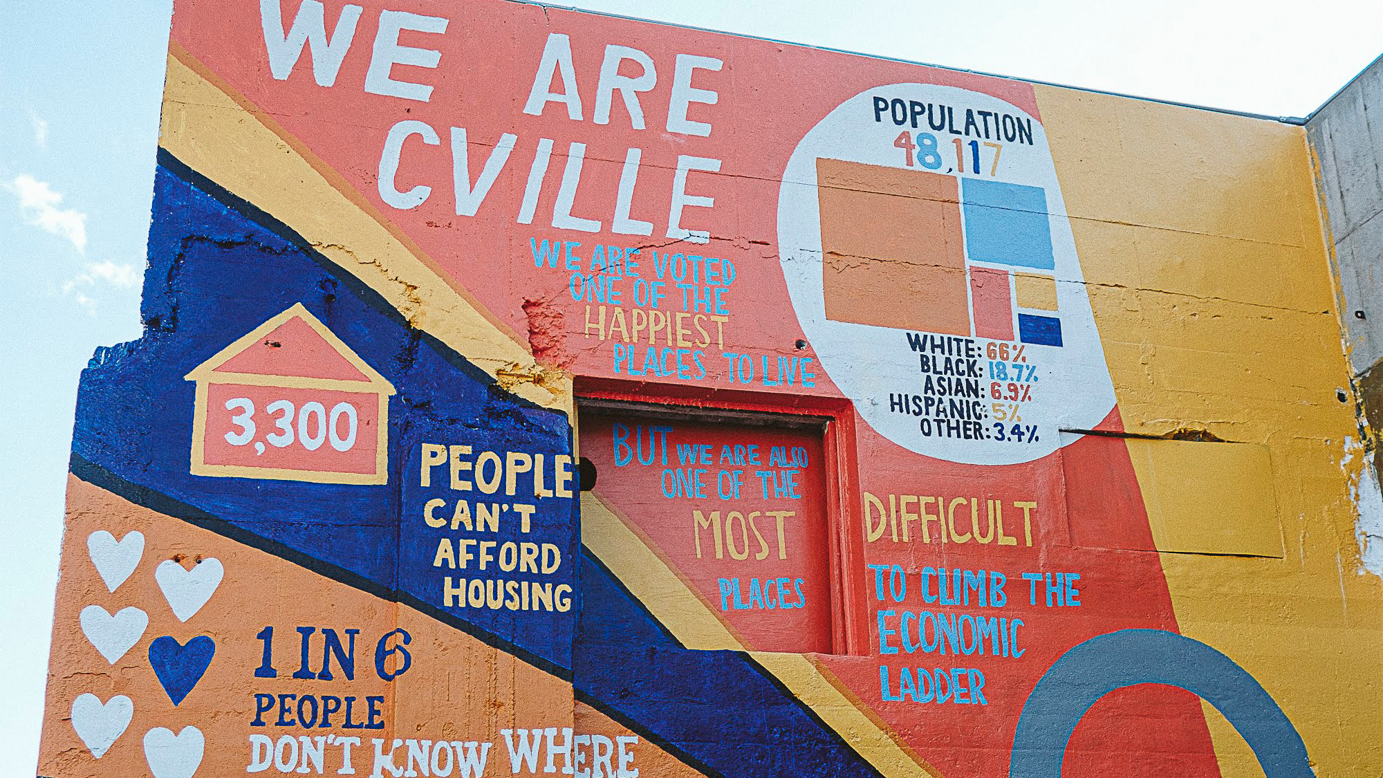 We are cville mural